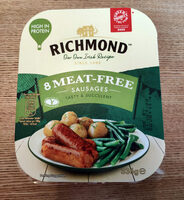Meat-free sausages - Product - en