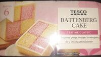 Tesco Battenberg Cake - Product - en