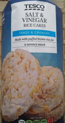 Salt & Vinegar Rice Cakes - Product