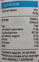 Salt & Vinegar Rice Cakes - Nutrition facts