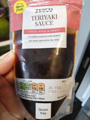 Teriyaki Sauce - Produit - en