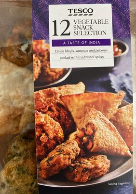 Vegetable snack selection - Product - en