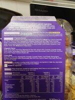 Vegetable snack selection - Ingredients - en