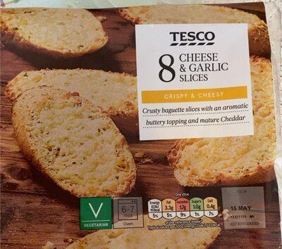 Cheese & Garlic Slices - Produit - en
