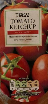 Tesco tomato ketchup - Product - en