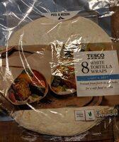 Tesco Tortilla Wraps - Product - en