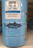 Tuna chunks in spring water - Product