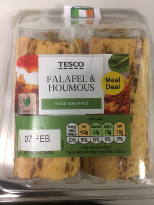 Falafel & Houmous - Produit - en