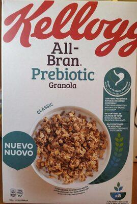 Allí Bran Prebiotic Granola - Producte - es