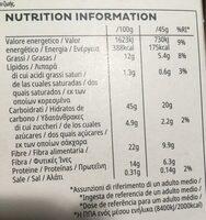 Allí Bran Prebiotic Granola - Informació nutricional - es