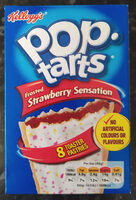 Pop Tarts Strawberry Sensation - Prodotto - en