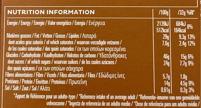 Kellog's Extra Amande - Voedingswaarden - fr