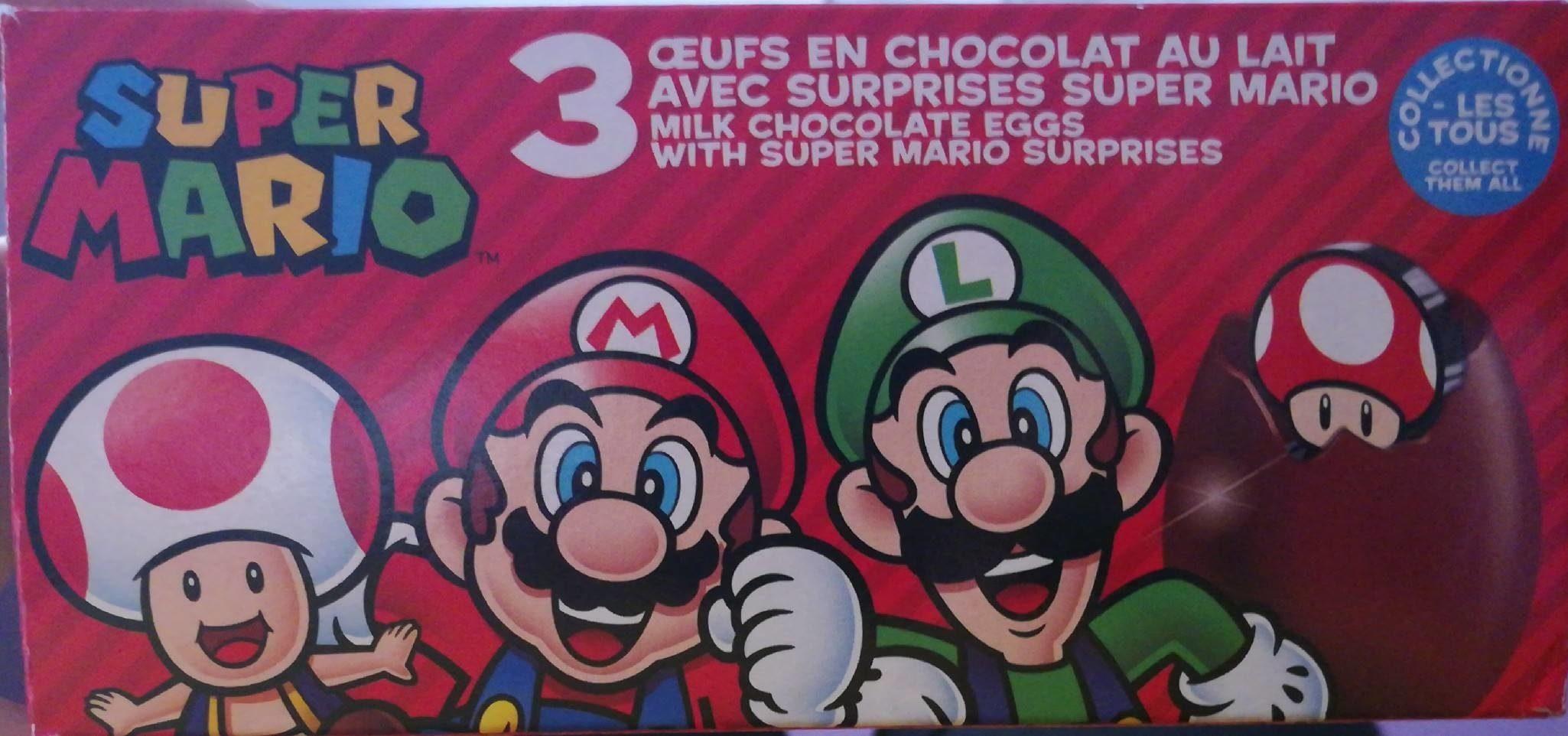 3 œufs en chocolat au lait - Prodotto - fr
