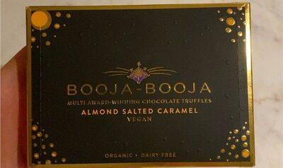 Almond salted caramel truffles - Produto - en
