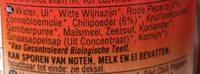 Geo Organ Curry Paste Thaired - Ingrédients - nl