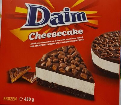 Daim Cheesecake - Product - fr