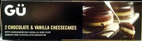 2 cheesecakes au chocolat & vanille de madagascar - Product