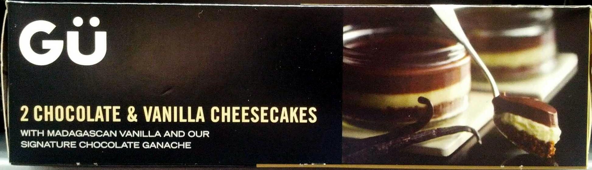 2 cheesecakes au chocolat & vanille de madagascar - Product
