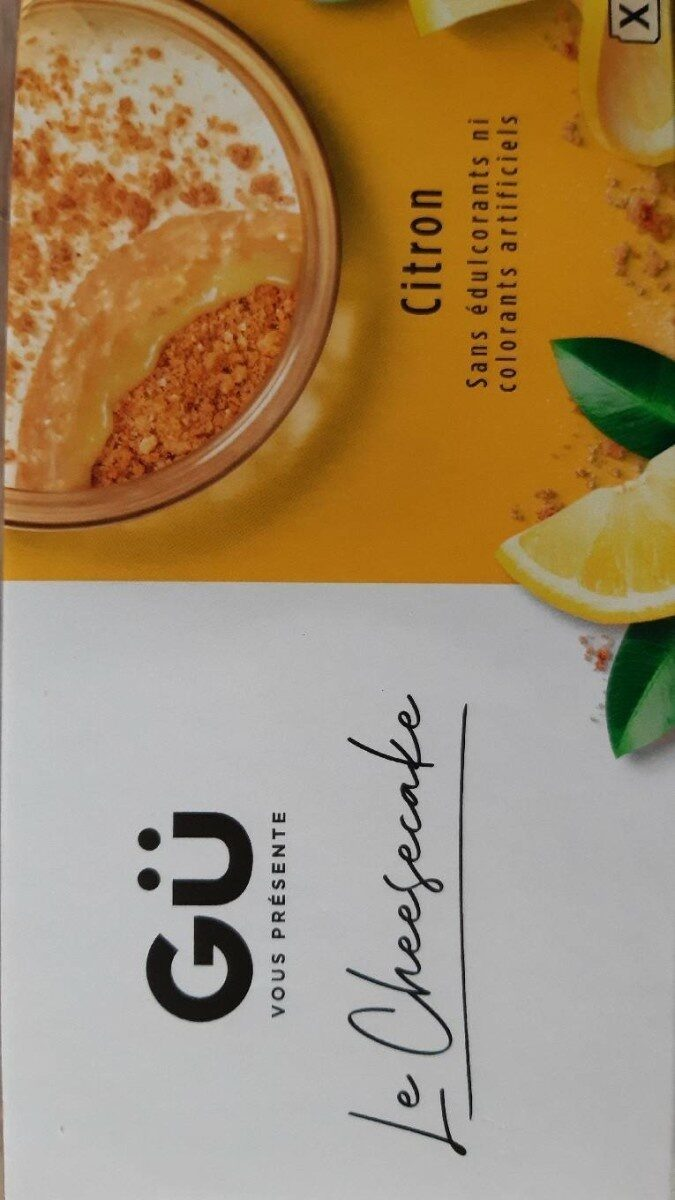 Le cheesecake citron - Product - fr