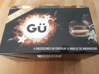 4 cheesecakes au chocolat & vanille de madagascar - Product - fr
