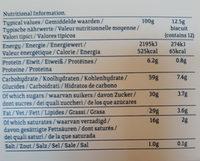 Island Bakery Organics Lemon Melts - Nutrition facts