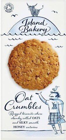 Bakery Organic Oat Crumbles - Product - nl