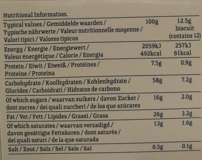 Bakery Organic Oat Crumbles - Voedingswaarden - nl