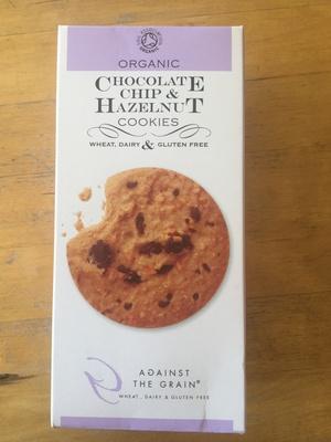 Biscuits aux pépites de chocolat et aux noisettes sans gluten - Product - nl
