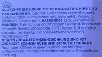 Chocolate chip & hazelnut Cookies - Inhaltsstoffe - de