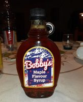 Bobby's Maple Flavour Syrup - Producte