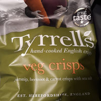 Chips de betterave, panais et carotte au sel de mer - Produit