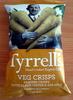 Veg Crisps Parsnip crisps with black pepper & sea salt - Produit