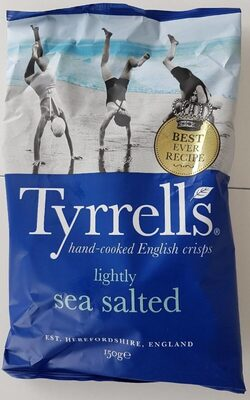 Hand-Cooked Crisps Lightly Sea Salted - Produit