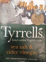 Sea salt & cider vinegar - Produkt - de