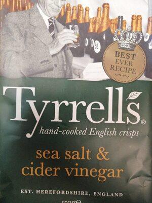Sea salt & cider vinegar - Product - en
