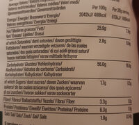 Sea salt & cider vinegar - Nutrition facts - en