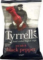 Chips aux sel de mer et poivre noir - Produit - fr