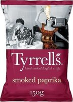 Hand-Cooked English Crisps Smoked Paprika - Product - de
