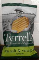 Tyrrell's sea salt & vinegar - Product - en