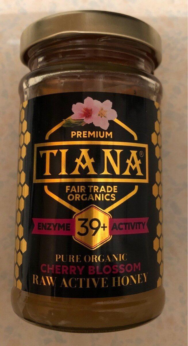 Tiana Fairtrade Organics Raw Active Cherry Blossom Honey 39