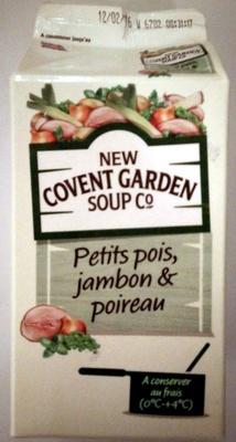 Petits Pois, Jambon & Poireau - Product