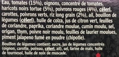 Gombo de Louisiane & poivrons rouges - Ingrédients - fr