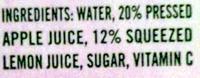 Vintage Lemonade - Ingredients - en