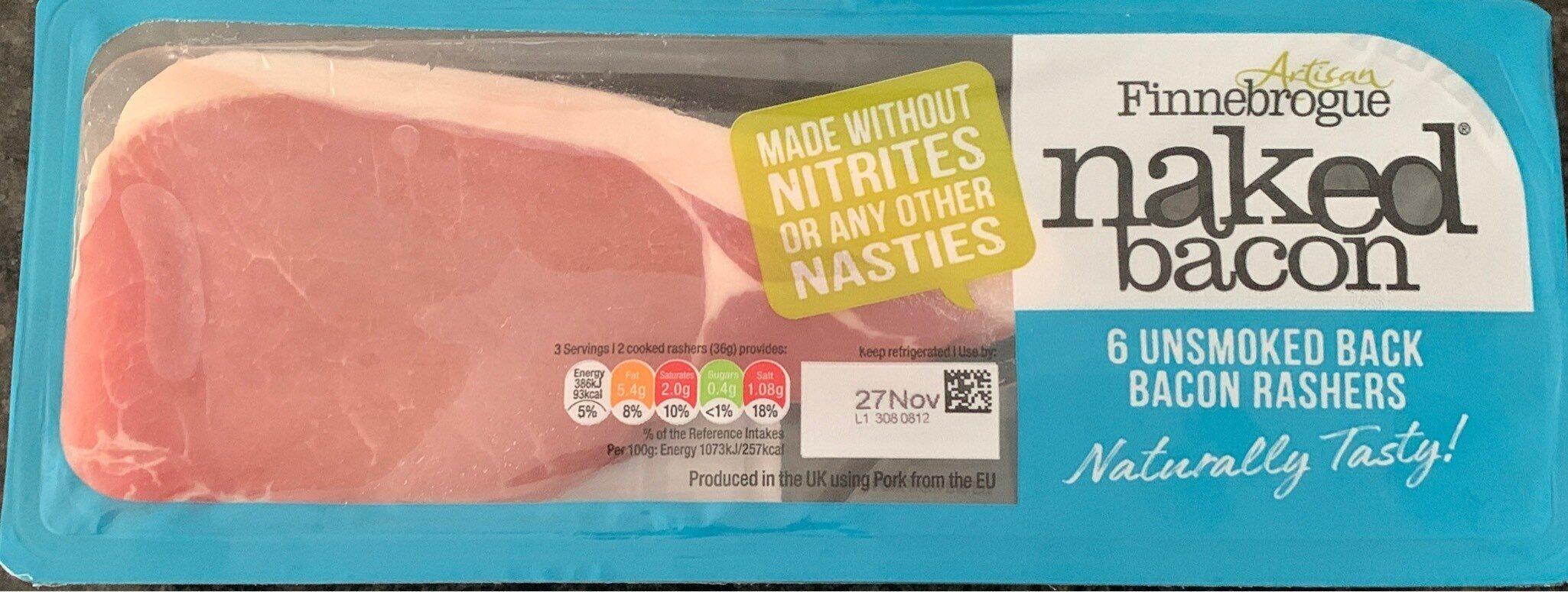 Naked bacon - Producte