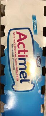 Danone Actimel Original 12 X 100G - Product - en