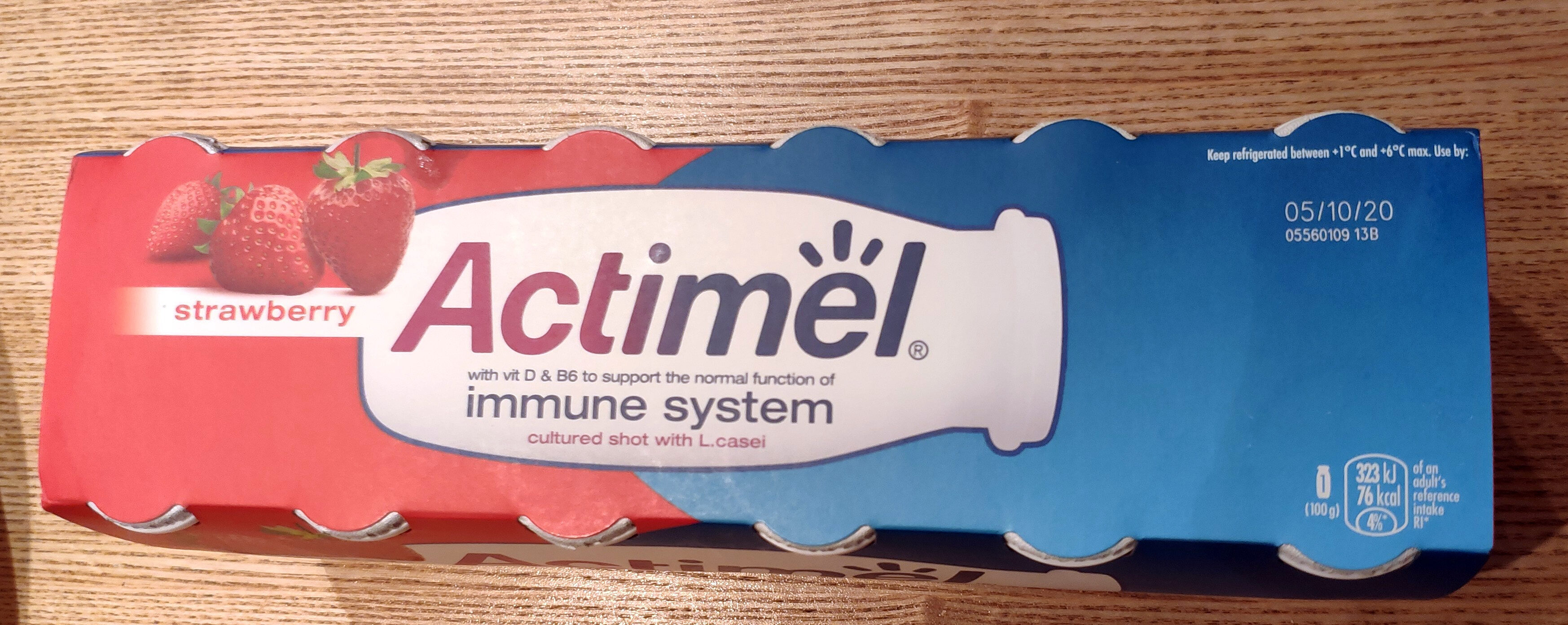 Actimel Strawberry - Product - en
