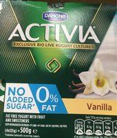 Activia 0% Fat Vanilla Yogur - Produit - fr
