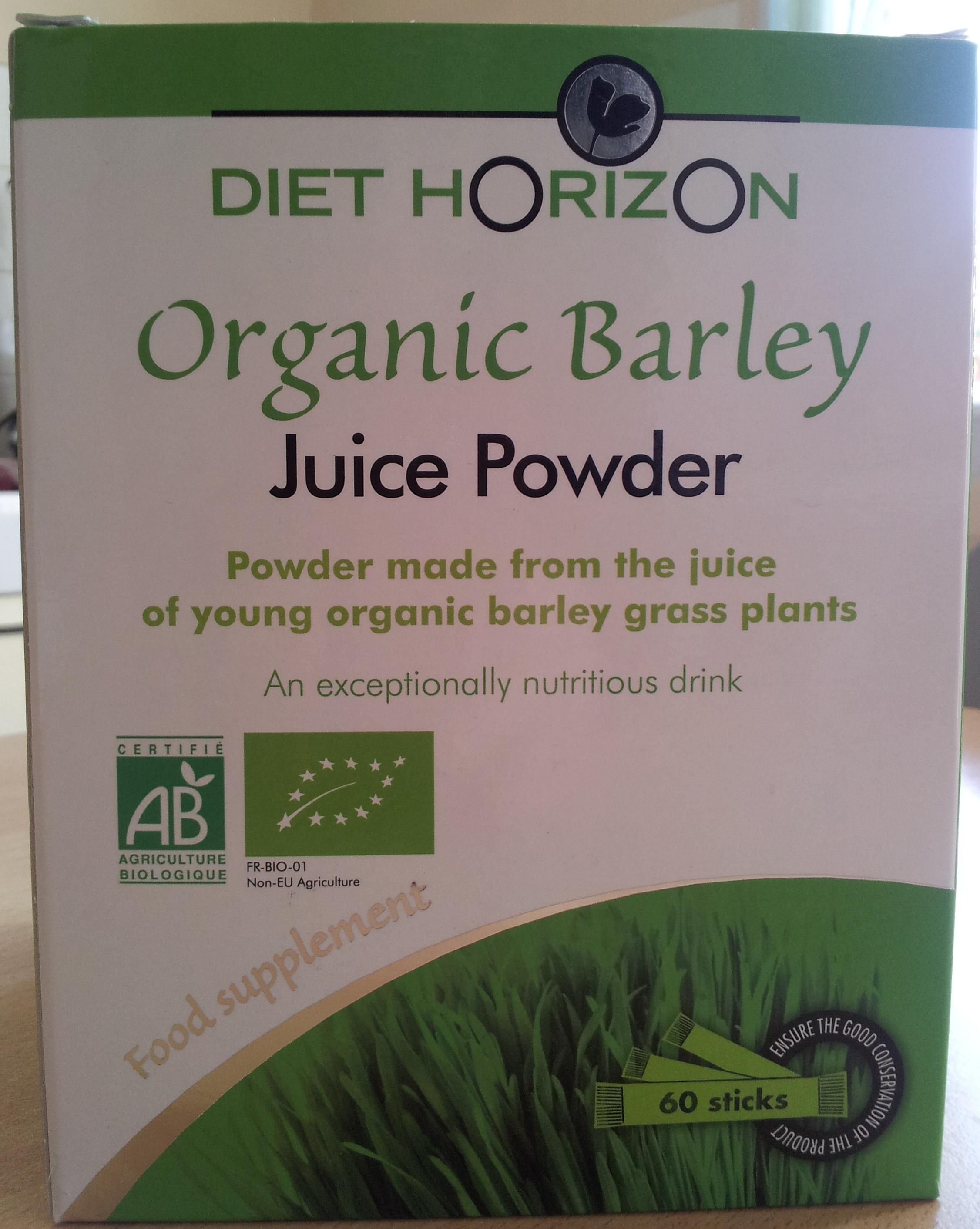 Organic Barley - Juice Powder - Product