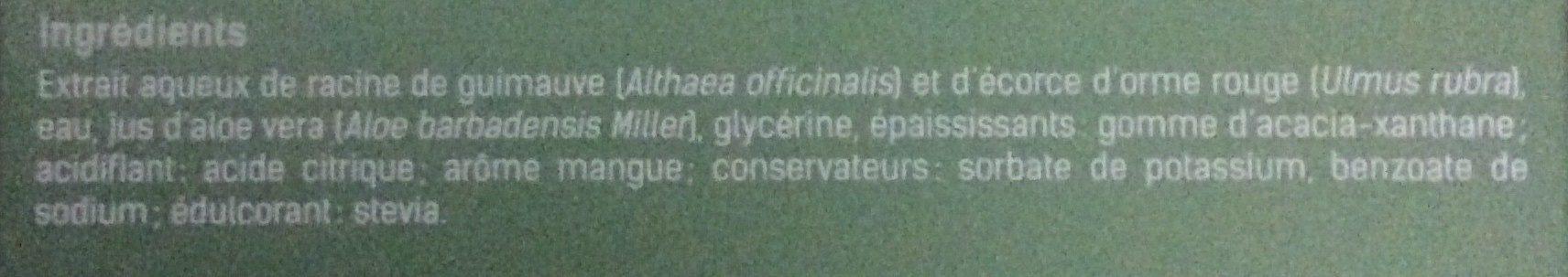 Nectaloe - Stick à boire - Ingredients - fr