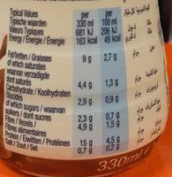 Low carb chocolate - Voedingswaarden - fr